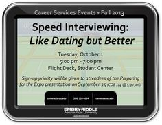 Career Services event