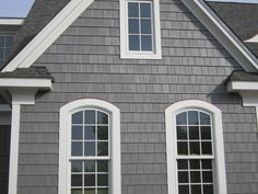 houses with stained cedar shakes | Nichiha's Sierra Premium Shakes were recently recognized by Consumer ...