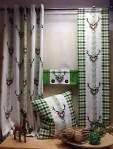rromantische hirschmotive und karodesigns in traditionellen farben alpentradition landhaus. Black Bedroom Furniture Sets. Home Design Ideas