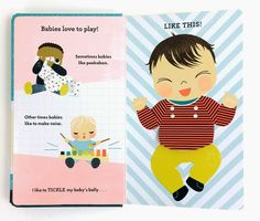 From: SNUGGLE THE BABY by Sara Gillingham.