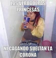 Resultado de imagen para memes de princesas
