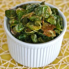 B is for: Brussels Sprout Chips