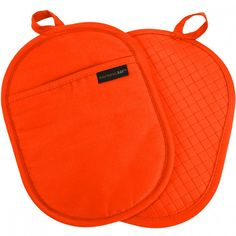 Rachael Ray Pot Holder with Silicone Grip, Orange Gifts For A Baker, Kitchen Must Haves, Kitchen Ideas, Gift Finder, Cooking Tools, Cozy House, Saddle Bags, Pot Holders, Textiles