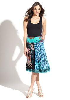 desigual gingy skirt