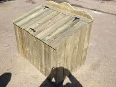 Jenny Tell A Free Wooden Garbage Box Plans