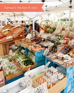 Farmer's Market @ UNU | Tokyo Eats