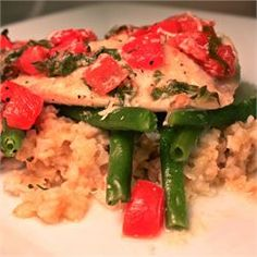 Easy Tilapia with Wine and Tomatoes - Allrecipes.com