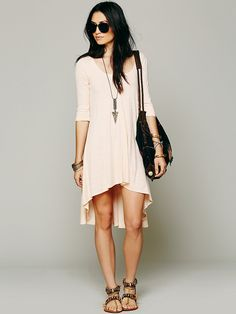 Free People Drippy Jersey Dress at Free People Clothing Boutique