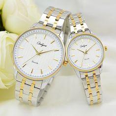 >> Click to Buy << Onlyou Luxury Brand Quartz Watches Women Men Business Watch Stainless Steel Watchband Ladies Formal Wristwatch Gold Watch 8883 #Affiliate
