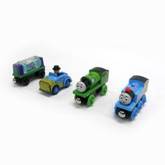 $29.99 - Have some splashing fun with the Slippy Sodor Gift Pack!   • Inspired by the episode Slippy Sodor, this 4-pack features sudsy-decorated Thomas and Percy, the mud and hay-covered Sir Topham Hatt?s car and an exclusive Bubble Tanker that has real bubbles inside! • Thomas sports a surprised expression and exclusive red funnel. • Your child can recreate the storyline of the Slippy Sodor episode, in which Thomas has a cracked funnel and goes to ...
