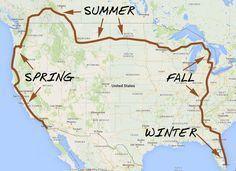 2016-travel-plans-JPG.jpg (800×583) One Day I like this idea!! Snow Birds