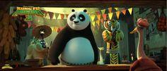 kung fu panda 3 my poster/mi poster 31 by pollito15.deviantart.com on @DeviantArt