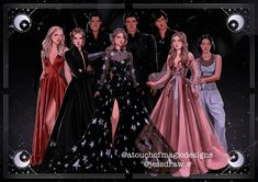 A Court Of Wings And Ruin, A Court Of Mist And Fury, Sara J Maas, Roses Book, Feyre And Rhysand, Sarah J Maas Books, Fanart, Crescent City, Look At The Stars