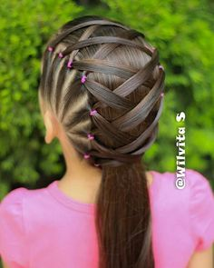 braid hairstyles for school Popular Haircuts Braided Hairstyles For Teens, Cute Hairstyles For Kids, Baby Girl Hairstyles, Princess Hairstyles, Diy Hairstyles, Teenage Hairstyles, Curly Hair Styles, Natural Hair Styles, Girl Hair Dos