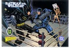"""wildcat comic - Theodore """"Ted"""" Grant is a normal human who was, at some unspecified point, magically given nine lives. He remains at the peak of human condition due to extensive workouts that consist of intensive regular exercise. He is a world-class boxer who trained Batman, Black Canary, and even Superman in the art."""