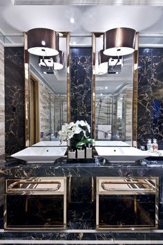 Get inspired with the most glamorous ideas for your luxury bathroom. Discover more about Memoir inspirations at http://memoir.pt/inspirations/