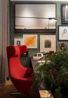 0f165c1a7b4 Detalhes do home office da designer de interiores Patrícia Hagobian para Casa  Cor São Paulo 2016.