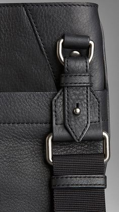 Textured Leather Crossbody Bag | Burberry