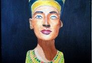 How to Paint Nefertiti Bust in Acrylic — Online Art Lessons