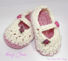 Baby Girl Shoes Mary Jane by CutestlittleThing on Etsy,