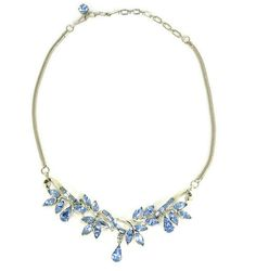 Hey, I found this really awesome Etsy listing at https://www.etsy.com/listing/97626763/coro-blue-rhinestone-necklace-vintage