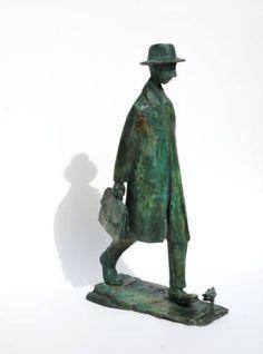 "Saatchi Art Artist Uri Dushy; Sculpture, ""Back Home 02"" #art"