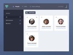 Apiary Team Dashboard by Jan Dvořák for Apiary