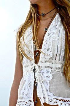 ☆ women's fashion and boho style Gypsy Style, Boho Gypsy, Hippie Style, Bohemian Style, Boho Chic, Shabby Chic, Estilo Fashion, Indie Fashion, Gypsy Fashion