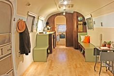 Our 1968 Airstream remodel. We design and build custom Airstream Travel Trailer remodels for private owners and businesses in Los Angeles, V...