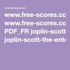 Scott Joplin L'Arnaque