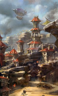 The old Orgrimmar by zippo514 on deviantART
