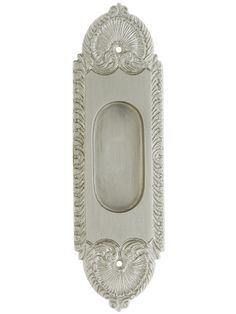Pocket Door Pull. Stanwich Design Without Keyhole
