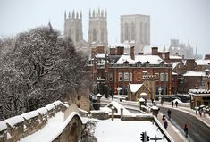 """The Steam Dreams Rail Co. on Instagram: """"As the cobbled streets transform into a Christmas wonderland, the historic city of York truly is a beautiful sight in winter. ❄️ You could…"""" Christmas Wonderland, York Uk, City, York Minster, Year Book, Seaside Towns, Most Beautiful Cities, British Isles, Locomotive"""