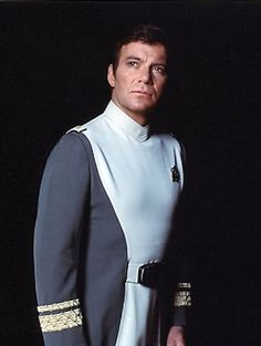 Admiral James Kirk.  A bit more uppity than Captain James Kirk.