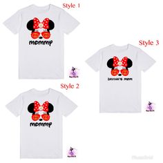 Designer Inspired Gucci Minnie Mouse with Aviator Sunglasses MOM, MOMMY, With or Without Your Child's Name Women's T-Shirt A personal favorite from my Etsy shop https://www.etsy.com/listing/567232744/designer-inspired-gucci-minnie-mouse