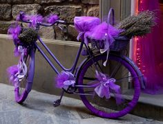 The Purple Bicycle The Purple, All Things Purple, Shades Of Purple, Purple Stuff, Purple Cars, 50 Shades, Blue, Bicycle Wallpaper, Color Lavanda