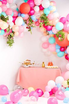 Create A Jaw Dropping Wedding Balloon Arch In Just 6 Simple Steps Fairy Birthday PartyBirthday