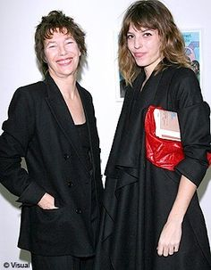 Lou Doillon and her mother Jane Birkin