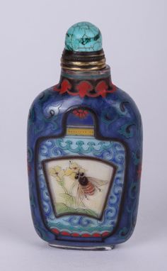 Lot 468: A Chinese glass imitating amber snuff bottle. Description from pinterest.com. I searched for this on bing.com/images