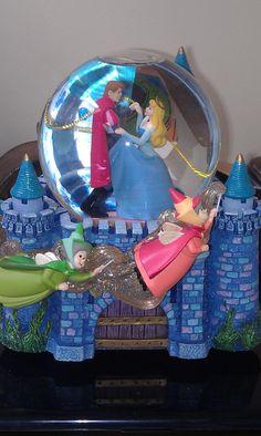 Sleeping Beauty Disney Musical Snowglobe