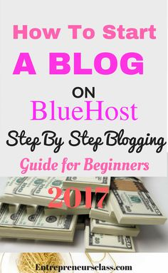 Blogging for beginners: Here is how to start a blog on bluehost step by step guide.