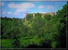 La puissante forteresse médiévale de Murat n'ose plus se montrer. Malgré un glorieux passé, elle se cache au milieu des arbres honteuse de n'être plus qu'une ruine... Pourtant, en prenant le temps de l'apprivoiser, elle vous contera sa magnifique vie et le drame d'amour qu'elle a vécu.