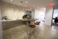 Paltry Office Pantries Give Way to Sleek Social Spaces - NYTimes.com