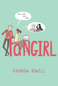 5 squealing stars.Fangirl by Rainbow  Rowell follows the story of Cather Avery, a 18-year-old college  freshman hailing from Omaha, Nebraska who is obsessed with a franchise  called Simon Snow.  (Think Harry Potter.*) Cather is a twin who was  raised by a mentally unstable father and an absent moth