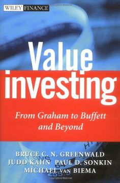 Value Investing: From Graham to Buffett and Beyond « Delay Gifts  A very interesting one. http://www.tradingprofits4u.com/