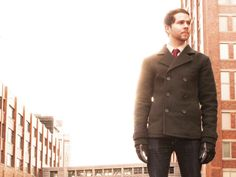 The Pea Vegan Eco-Friendly Winter Pea Coat by Vaute Couture - The Ethical Man - Expert Style Resource and Vegan Fashion Shop for Men
