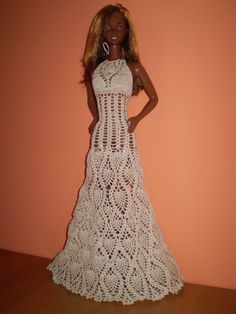 "ty samé šaty oblečené na Barbie 18"""