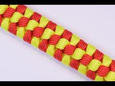 "▶ How to Make a Paracord Survival Bracelet - The ""Checkmate"" Design - BoredParacord - YouTube"