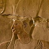 Hatshepsut. The only female Pharoah of Egypt who reigned for 21 years over 3,500 years ago. A peaceful and prosperous reign, Hatshepsut was responsible for the iconic Temple of Hatshepsut in Luxor, and the tallest obelisk in the world, which still stands today, in the Temple of Karnak.