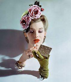 Horst P. Horst beauty shot for Vogue